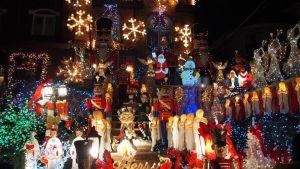 Julprydnader i Dyker Heights, Brooklyn