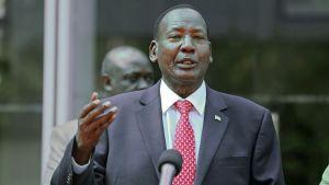 Kenyas minister för inrikessäkerhet Joseph Ole Nkaissery