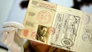 Adolf Eichmanns förfalskade pass