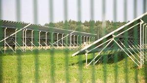 Migrit Energijas solenergianläggning i Kroatien.