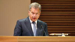 Presidenten talade på ambassadörsdagarna
