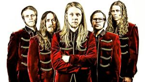 Svenska rockbandet Grande Royale