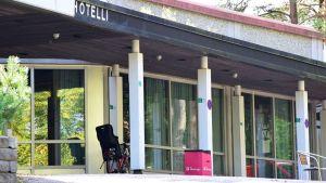 Flyktingförläggning i Forssa, tidigare hotell