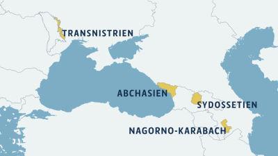 Tusentals flyr krig i azerbajdzjan