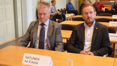 Talvivaaras tidigare vd Harri Natunen under rättegången den 4 augusti 2015.