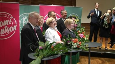 Centerns nya ministrar
