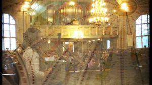 bildcollage av kyrka