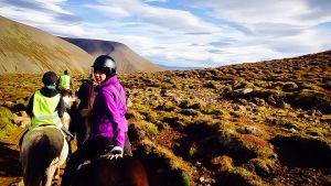 Det sociala livet på Island, som är Christoffers nya land