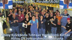 Skärmdump från tidningen Karjalainen