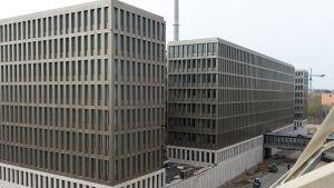 Den tyska underrättelsetjänstens högkvarter i Berlin.