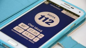 Mobilapplikationen 112 Finland