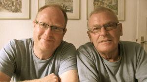 Peter Lüttge och fadern