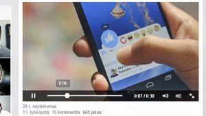 Nya ikoner lanseras på Facebook.