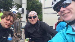 Deltagare i Tour de Östnyland 2017.