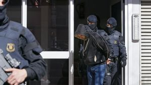 spansk polis sprängde terrorcell