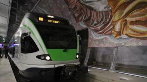I-tåget på Ringbanan
