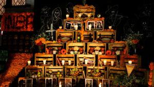 De dödas dag firas i Mexico.