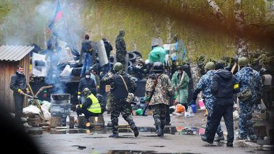 Läget i Östra Ukraina tillspetsat