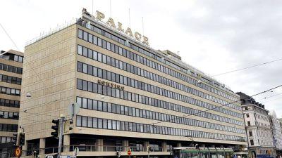 Hotell Palace vid Södra Kajen i Helsingfors.