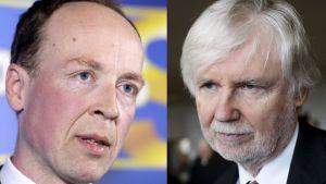 Erkki Tuomioja och Jussi Halla-aho
