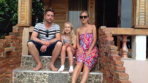 Familjen Kallio är tillbaka på Koh Lanta.