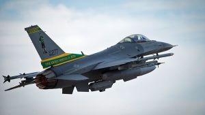 Amerikansk F-16-jaktplan