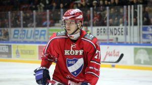Mika Partanen, anfallare i HIFK.