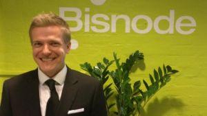 Pär Österlund är marknadschef på kreditupplysningsföretaget Bisnode Finland.