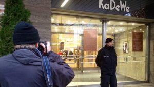 Varuhuset KaDeWe i Berlin utsattes för rån