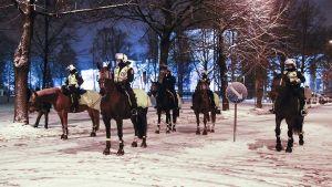 Det förekom demonstrationer den 6 december 2013 i Tammersfors