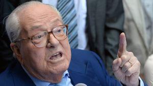 Jean-Marie Le Pen i Marseille 5.9.2015.