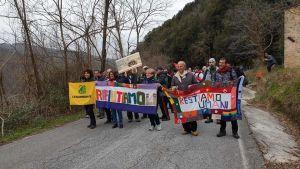 Protestsmarsch mot Bannons planerade gladiatorskola i Italien