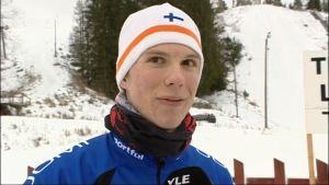 Eric Storvall, skidlöpare