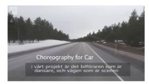 Choreography for Car