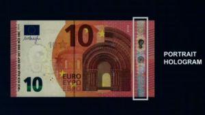 Den nya 10-eurossedeln