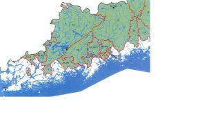 Lax- och sikförande vattendrag i Nyland