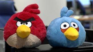Angry Birds mjukisdjur.