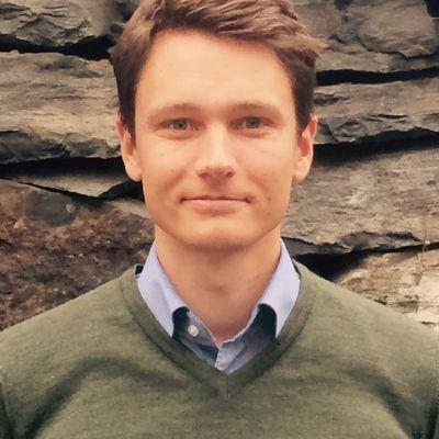 Skogschef Robert Lindholm vid Fiskarsbolaget