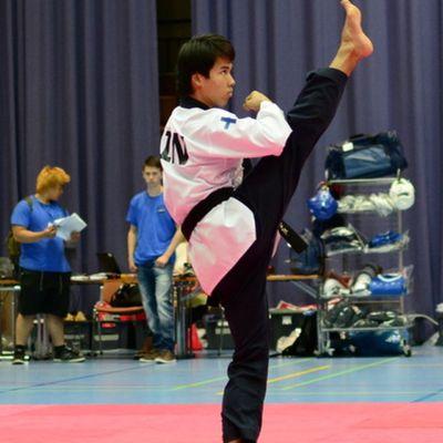 Taekwondo Frans Salmi tog en historisk VM-medalj för Finland.