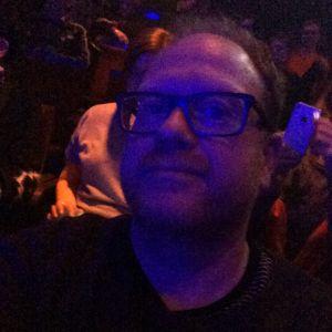 Selfie tagen under föreställningen LADA på Tampereen Työväen Teatteri