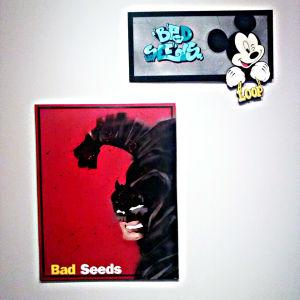 Graffiti inspirerad av popart