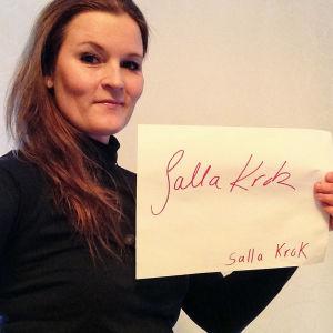 Salla Krok osallistuu Seinäjoen Tangomarkkinoiden laulukilpailuun.