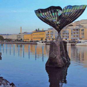 Staty av en fiskstjärt