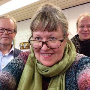 Ann-Sophie, Peter och Gösta Willman