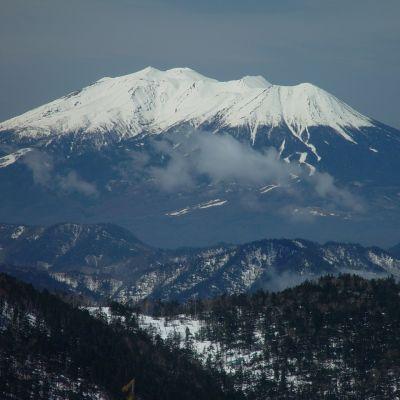 Ontake är en vulkan i Japan