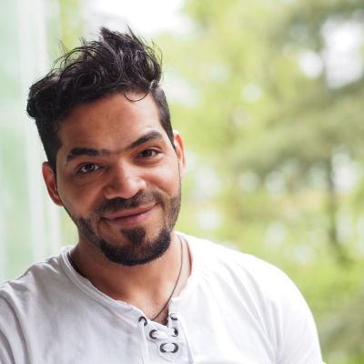 Mohammed vill få sin familj till Finland.