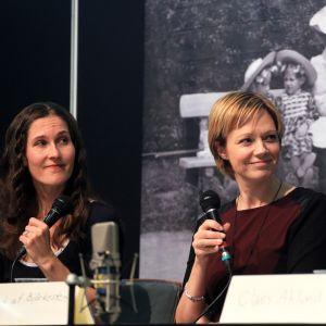Malin Kivelä, Marit af Björkesten och Claes Ahlund.
