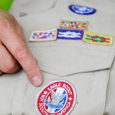 Eagle Scout -ansiomerkki.