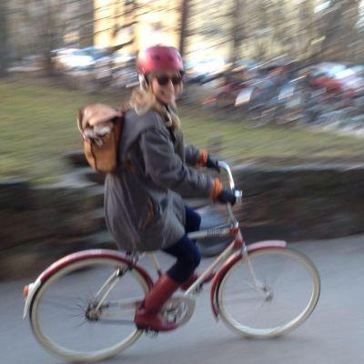 Henni Ahvenlammen polkupyörä on omistajalleen rakas ja symboloi vapautta.