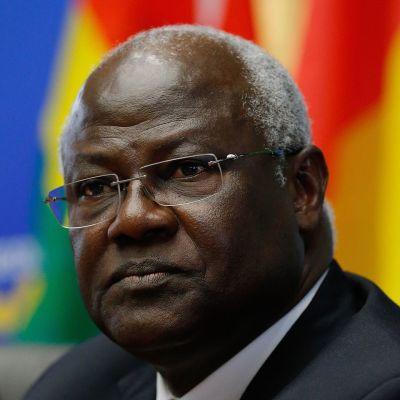 Sierra Leonen presidentti Ernest Koroma